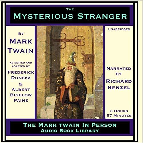 The Mysterious Stranger audiobook cover art