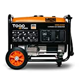 TogoPower GG3600 Portable Generator 3000 Rated Watts & 3600 Peak Watts for Gasoline Powered Portable Generator
