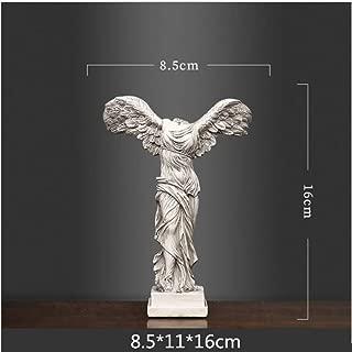 CAMLEO Goddess Sculpture Ancient Greek Statue Vintage Abstract Angel Figurines Resin Craftwork European Bookshelf Home Decorations