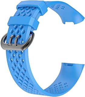 DALIN - Cinturino in silicone per smartwatch Fitbit Charge3/3SE/4/4SE