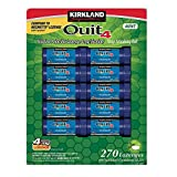 Kirkland Signature Quit4 4mg Lozenge Mint 270 Count