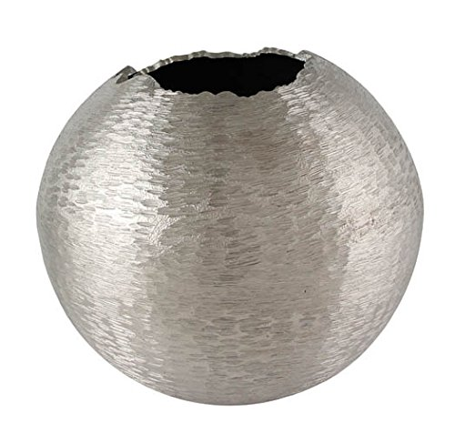 Kaheku Kugelvase Abius silber 24,5 cm Ø 22,5h 1211000897