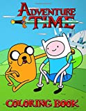 Adventure Time Coloring Book: Over 50 completely unique Adventure Time Jumbo Coloring Book!...
