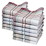 Merrysquare - Mouchoirs en Tissu Coton...