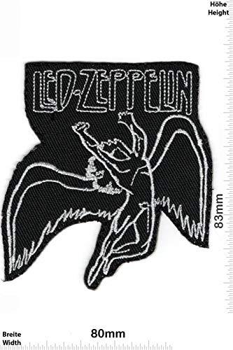 Led Zeppelin parche patch bordado logotipo planchar