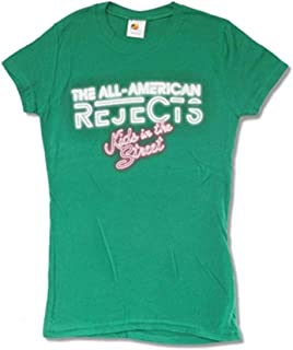 All - American Rejects Kids 2012 Tour Junior Top Green