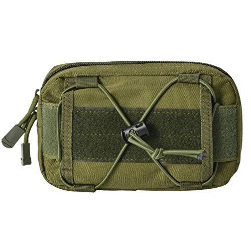 Teléfono móvil Bolsa de la cintura Herramientas de la bolsa de primeros auxilios Bolsos de bolsillo de la extensión negra Bolsas de la cintura táctica, la bolsa de cintura al aire libre universal Bols