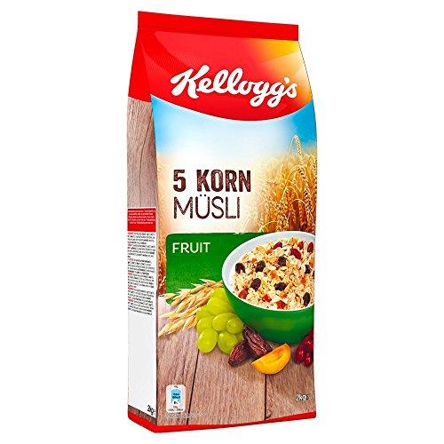 Kellogg's 5-Korn Müsli Fruit   Früchte Müsli   Einzelpackung (1 x 2kg)