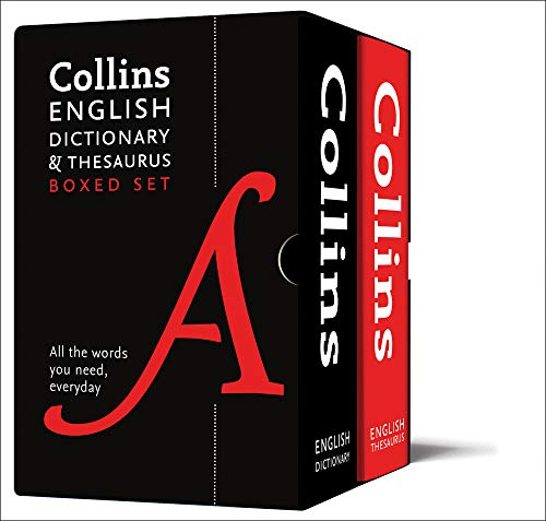 English Dictionary and Thesaurus Boxed Set: All the words you need, every...