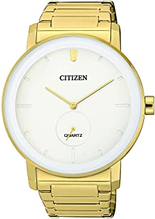 CITIZEN Mens Quartz Watch, Analog Display and Stainless Steel Strap - BE9182-57A