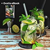 flamaroc® Filzuntersetzer Rund – 10er Untersetzer Filz Premium-Set mit Box Anthrazit Grau, Stylishe Glasuntersetzer in Dunkelgrau für Glas, Getränke, Gläser - 3