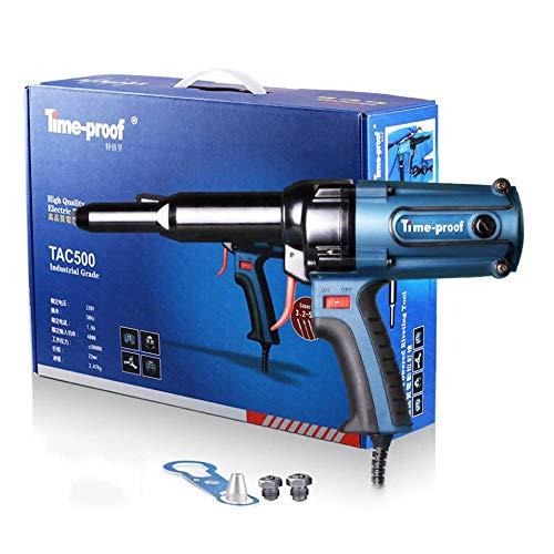 HYLH Remachadora de Electricidad 220V, Pistola de Clavos Pistola Remachadora 400W 8000N...