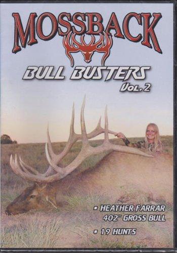 Mossback Bull Busters Vol 2 ~ Big Elk Hunting DVD ~ Archery ~ Rifle