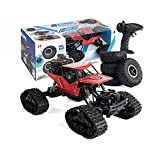 Remote Control Car YF-TOW RC Cars 1:16 4WD Off-Road Climbing Truck 2.4Ghz Capable of Replacing Off-Road Wheels with Rechargeable Batteries(Red)
