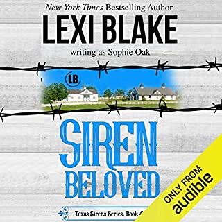 Siren Beloved                   Written by:                                                                                                                                 Lexi Blake writing as Sophie Oak                               Narrated by:                                                                                                                                 CJ Bloom,                                                                                        Ryan West                      Length: 9 hrs and 16 mins     Not rated yet     Overall 0.0