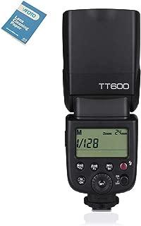 GODOX TT600 フラッシュ スピードライト マスター/スレーブフラッシュ 内蔵 2.4G ワイヤレストリガ・システムGN60 For Canon Nikon Pentax Olympus Fujifilm Compatible 対応 AD360II-C AD360II-N TT685C TT685N Flash X1T-C/N Trigger