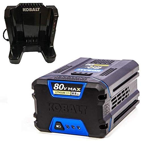 Kobalts 80-Volt Battery and Charger Kit (2.5Ah Battery and Charger)
