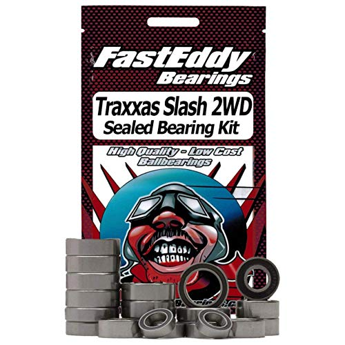 FastEddy Bearings Sealed Bearing Kit: Traxxas Slash 2WD, TFE2228