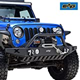 EAG Front Bumper Rock Crawler with OE Fog...