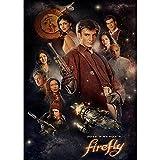 LWJPD Cuadro sobre Lienzo 40x60cm Sin Marco Tv Show Serenity Firefly Poster Cuarto De Baño Decoración De La Pared Imagen Impresiones En Lienzo Oficina