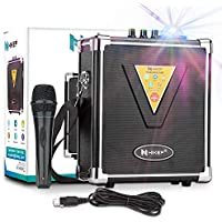 Hikep Portable Bluetooth Karaoke Machine
