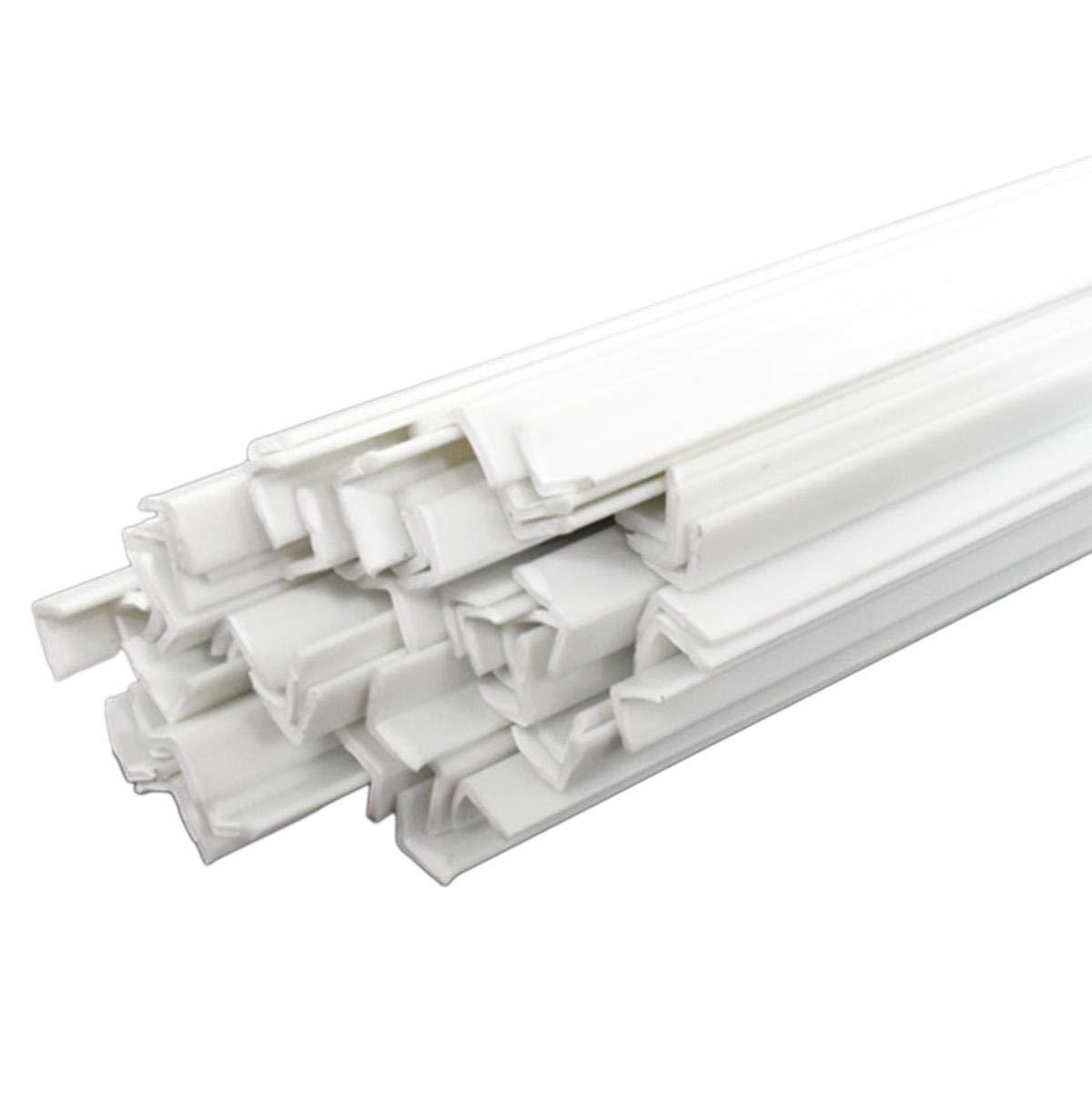 CGjiogujio 20pcs 4 x 250mm online shopping ABS Max 62% OFF L Right Shape Plastic Styrene