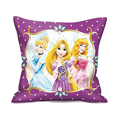 Disney Princess Coussin 35 x 35 cm, rose/rose Variante 2