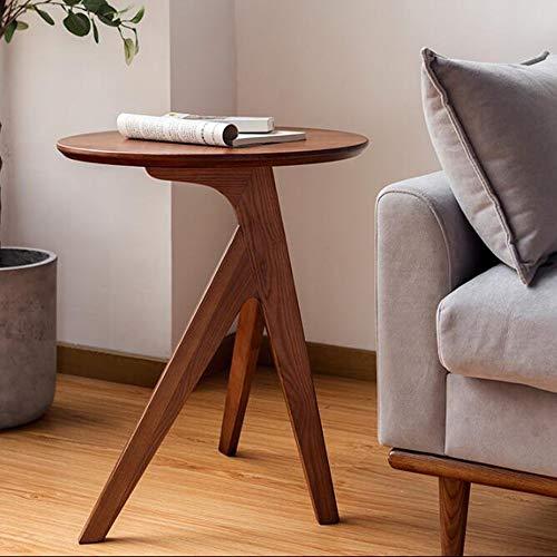 LIANG Home Solid Wood Table Side Room Sala Teléfono Mesa Mini Pequeño Soporte de Planta de Mesa de Esquina, 19.6''x23.6 '' (Color : 01)