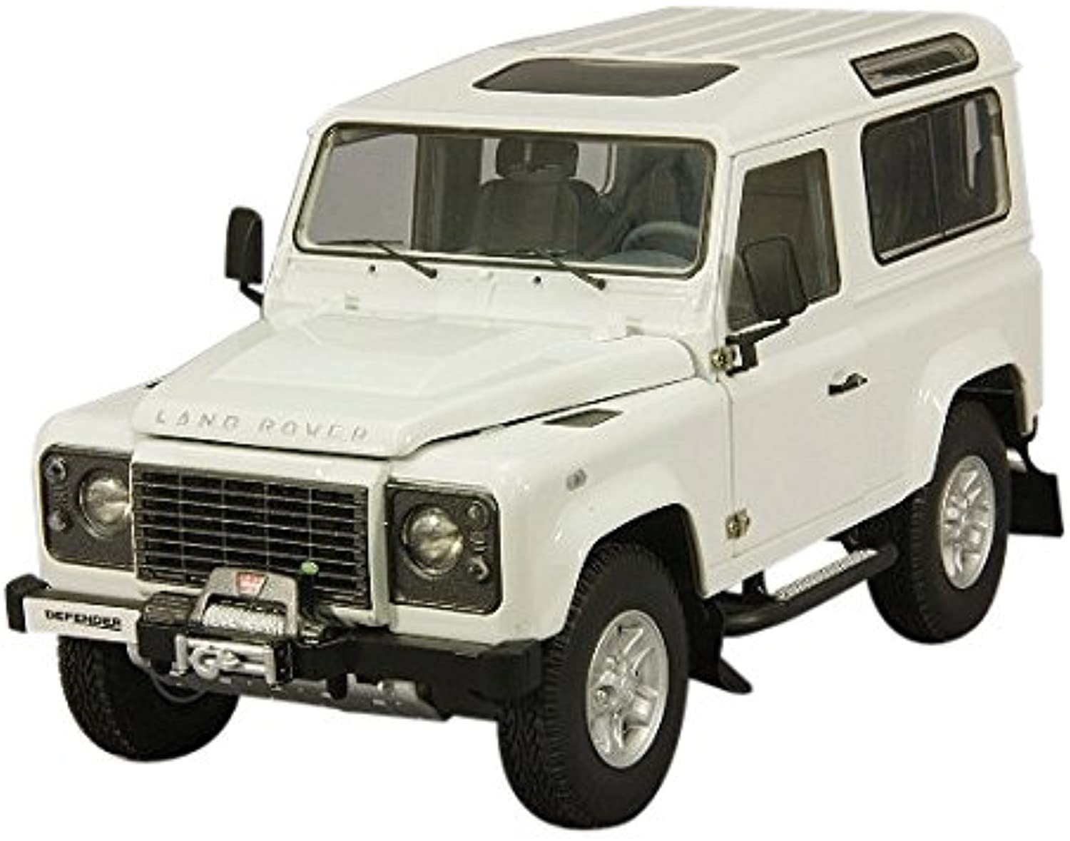 Kyosho Mini Mastab 1  18 Land Rover Defender 90Fuji Jeep (wei)