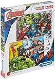 Clementoni 2 Puzzles 60 Piezas The Avengers, Color Multicolor. (21605.5)