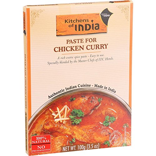 Kitchens of India Chicken Curry Paste 35 Ounce  6 per case