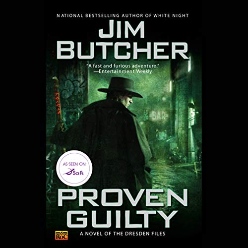 Proven Guilty cover art