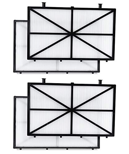 Fil-fresh Robotic Pool Cleaner Filter Compatible with Dolphin m400, m500, Nautilus CC Plus, 4-Pack Ultra-Fine Filter Replacement Maytronics 9991432-R4