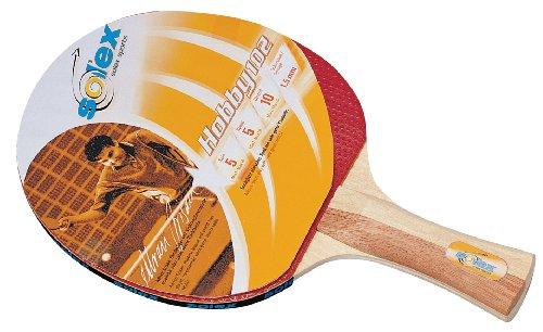 Solex Sports 44253–Racchetta Hobby 101, Colore: Rosso/Legno, 26x 15x 2cm, 44201
