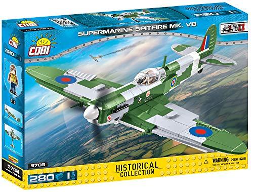 COBI Historical Collection Supermarine Spitfire MK. VB Plane, 5708