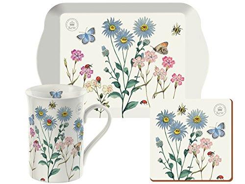 Royal Botanical Garden, Kew Tea Gift Set, Ceramica, Multicoloured, 14.5 x 21 x 8.4 cm