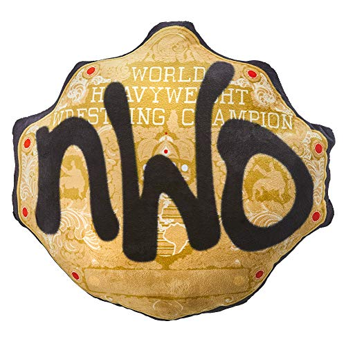 NWO WCW Championship Title Belt Throw Pillow Small