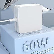 Compatible con Cargador Mac Book Pro de 60W 2 adaptadores, con Punta en T, Cargador para Mac Book Pro Retina de 13 Pulgada...