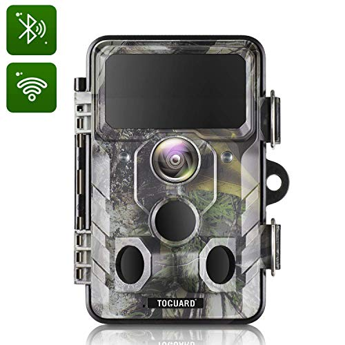 TOGUARD Upgraded Trail Camera WiFi Bluetooth 20MP 1296P...