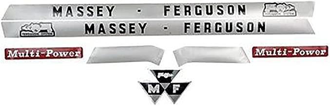 1865029M1 Massey Ferguson Multi-Power Tractor Decal Set 135 MF135 148 MF148