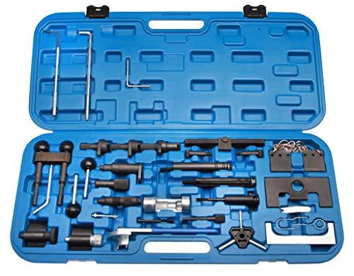 Zahnriemen Spezial Werkzeug - Motor Einstellwerkzeug Arretierungswerkzeug Steuerriemen im Werkzeugkoffer