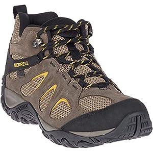 Merrell Men's Yokota 2 MID Waterproof Hiking Boot, Boulder, 10 W US