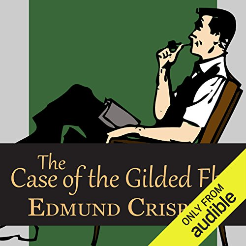 The Case of the Gilded Fly audiobook cover art