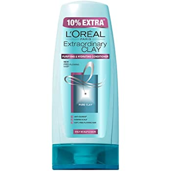 L'Oreal Paris Extraordinary Clay  Conditioner, 175ml (With 10% Extra)