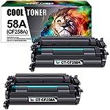 Cool Toner Cartucho de tóner Compatible con para Usar en Lugar de HP 59A CF259A Laserjet Pro MFP M428 M428dw M428fdn M428fdw M404 M404n M404dn M404dw(Negro,Pack de 2)