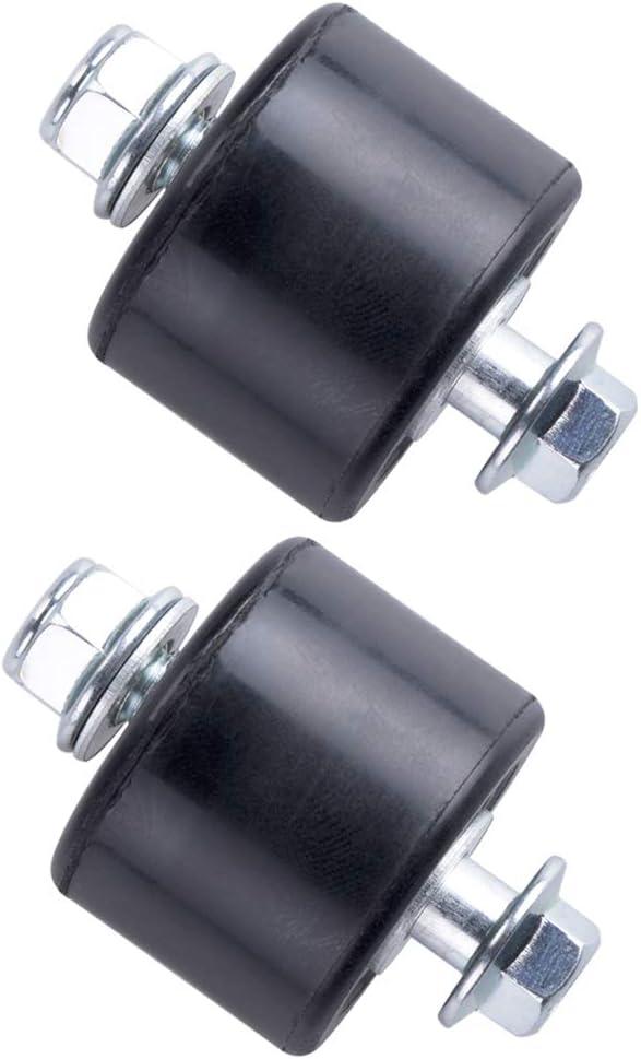 MRELC Black Lower Chain Roller Guide Set For Yamaha YFZ 350 Bans