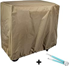 RunTo Heavy Duty Grill Cover Fit Camp Chef FTG600 Flat Top Grill Patio Cover,Brown