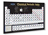 Chemical Periodic Table Chart- 18'x 24' Laminated Poster - Chemistry Quick Reference Guide -Permacharts