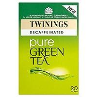 Twinings Green Pure Decaffeinated Tea (20 per pack) トワイニンググリーン純粋なカフェイン抜きの紅茶(パックあたり20 )