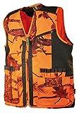 Gilet chasse camouflage orange forest Treeland T254 (3XL)
